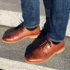 Gregers Belfast brune skinnsko Belfast, Men's Shoes, Dress Shoes, Derby, Men Dress, Kicks, Oxford Shoes, Footwear, Lace Up