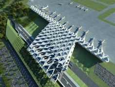 New Passenger Terminal for Zagreb Airport. Zaha Hadid Architects