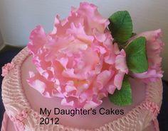 Sugar peony by My Daughter's Cakes