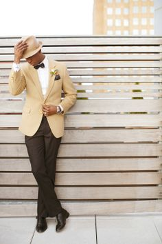 Styled by Mr. Baldwin Style -  Brooklyn Elopement Shoot - Ici Restaurant