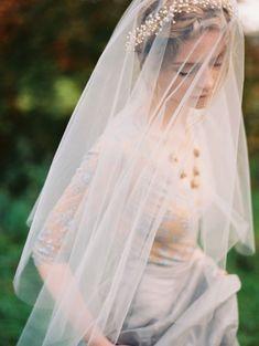 Ethereal Veiled Bride | Erich McVey Photography