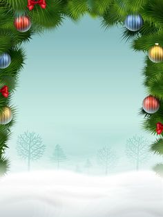 View album on Yandex. Free Christmas Borders, Christmas Images Free, Cartoon Christmas Tree, Christmas Tree Art, Christmas Trends, Disney Christmas, Vintage Christmas Cards, Christmas Baubles, Christmas Background Desktop
