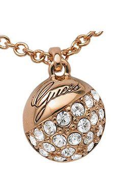 Collar Guess para mujer http://www.marjoya.com/joyas-de-acero-joyas-guess-collar-guess-mujer-ubn71337-p-9906.html