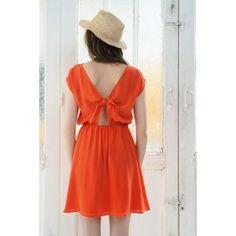 Dress Fabule Red @ DES PETITS HAUTS
