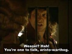 Blackadder Series 3 Episode 3 - Nob and Nobility Full Script Comedy Tv, Comedy Show, Blackadder Quotes, British Tv Comedies, The Scarlet Pimpernel, French Revolution, Great British, Deceit, Episode 3