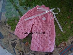 Baby Cardigan, Crochet Baby, Drawstring Backpack, Baby Car Seats, Elsa, Rompers, Children, Sweaters, Bags