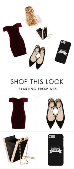 """""""Untitled #396"""" by hayesgrier-ep ❤ liked on Polyvore featuring Nicholas, Jimmy Choo, H&M and ASOS"""