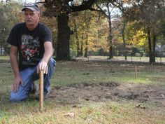 Mystery Graveyard Emerges in Tennessee Man's Yard