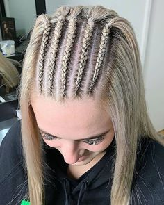 68 Best Braided Hairstyles for Medium and Long Hair Natural Afro Hairstyles braided Hair Hairstyles long Medium Braided Hairstyles For Wedding, Easy Hairstyles, Cheer Hairstyles, Updo Hairstyle, Hairstyle For Wedding Day, Curly Hair Styles, Natural Hair Styles, Blonde Hair Looks, Braids For Short Hair