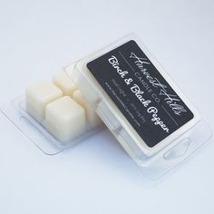 An oriental woody blend with cool spiciness. Notes of mandarin, cardamom, black pepper, jasmine, sandalwood, patchouli, musk  ***~~~~~~~~~~~~~~~~~~~~~~~~~~~~~~~*** 6pc Clamshell ***~~~~~~~~~~~~~~~~~~~~~~~~~~~~~~~***  Width: 2.88 Length: 4.25 Height: 1  Wax melts: approximate fragrance time ~ 20-25 hours per cube  ~~~~~~~~~~~~~~~~~~~~~~~~~~~~~~~ Want to get Coupons and Special Deals for our products? Join our VIP Club by clicking here: http://eepurl.com/bUIepf  You will also get a 10% Off…