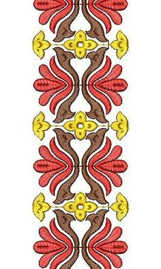 German Court Dresses Embroidery Lace Design