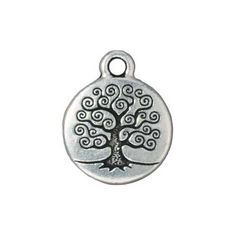 Fine Silver Plated Pewter Round Tree Of Life Charm 19mm (1) TierraCast http://www.amazon.com/dp/B002CZBW4O/ref=cm_sw_r_pi_dp_sPjgub1H8J3CE  $1.75 each -- tree cadette badge?