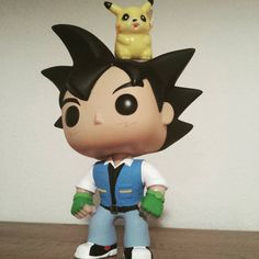 Custom Pokemon Ash Ketchum Funko Pop vinyl figure hatless variant with Pikachu figure by LFCustomPops on Etsy https://www.etsy.com/listing/259041718/custom-pokemon-ash-ketchum-funko-pop