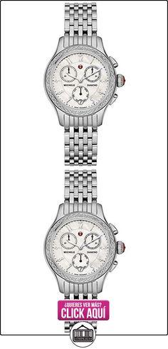 MICHELE RELOJ DE MUJER CUARZO 36MM CORREA Y CAJA DE ACERO MWW23A000001  ✿ Relojes para mujer - (Lujo) ✿ ▬► Ver oferta: http://comprar.io/goto/B00WWOPSS6