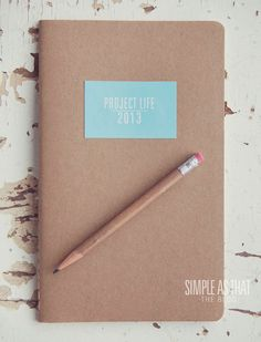 simple as that: Getting organized with Project Life