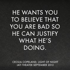 Light of Night is a play about one woman's unraveling into a dark underworld of desire, power and abuse.