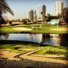 Emirates Golf Club yesterday ahead of the 26th Omega Dubai Desert Classic #dubai #abudhabi #golf #uaegolf #uae #emirates #golfer #golfing #mydubai #socialgolf #sun #happy #like #smile #instagood #instagolf #love #follow #iphone #photooftheday #me #instago