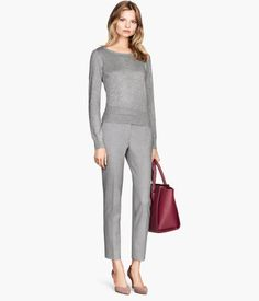 Suit pants with sweater H&M