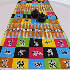This beautifully vibrant table runners will make any space feel alive! All the colors and designs are sure to bring a little bit of Africa to any space. Excellent choice for table decor for an African theme home decor or party.With 2 differe. African Theme, African Home Decor, Printed Curtains, Different Fabrics, Hostess Gifts, Event Decor, Fabric Patterns, All The Colors, Table Runners