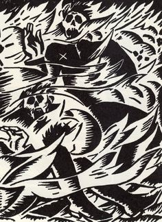 Frans Masereel - From Debout Les Morts