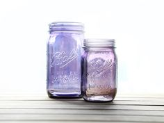 New! Coming to a store near you: Purple Mason jars.