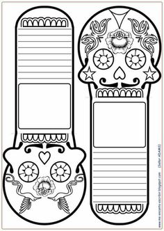 DIA DE LOS MUERTOS/DAY OF THE DEAD~Coloring page