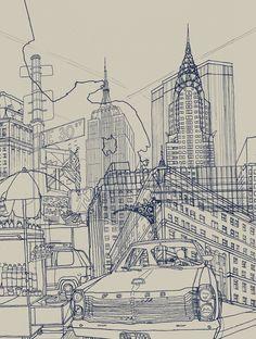New York! by David Bushell
