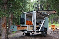 Live Off the Grid With a Tigermoth Camper Trailer