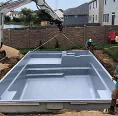 "Leisure Pools - The Ultimate It's October and Signature Pools is still making families happy by installing a Leisure Pools "" Swimming Pool Landscaping, Natural Swimming Pools, Swimming Pool Designs, Small Inground Pool, Small Backyard Pools, Small Pools, Pool Spa, Rectangle Pool, Leisure Pools"