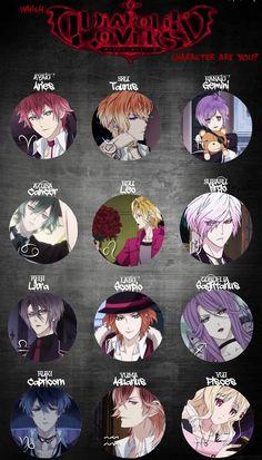I am Ayato again. Diabolik Lovers Ayato, Ayato Sakamaki, Zodiac Characters, Anime Characters, Zodiac Art, Zodiac Signs, Otaku Anime, Manga Anime, Anime Love