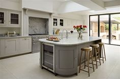 63 Elegant White Kitchen Design Ideas To Get Elegant Look. Here are the White Kitchen Design Ideas To Get Elegant Look. This post about White Kitchen Design Ideas To Get  Luxury Kitchen Design, Best Kitchen Designs, Luxury Kitchens, Interior Design Kitchen, Home Kitchens, Dream Kitchens, Tuscan Kitchens, Kitchen Diner Extension, Open Plan Kitchen