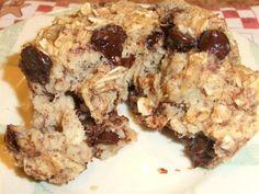 chocolate oatmeal muffin