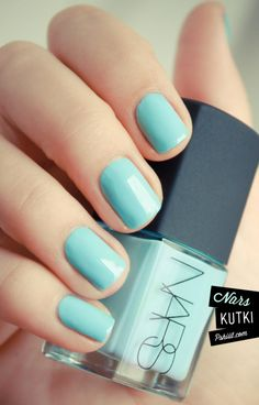 Thakoon for NARS- love this blue :)