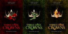 Three Dark Crowns by Kendare Blake | 28 YA Books You Have To Read This Autumn