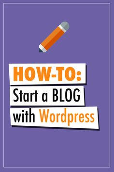 How to start a Wordpress BLOG in 3 easy steps: http://www.startyourblogonline.com/