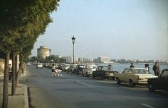 The beautiful calmness of early morning of Thessaloniki when I was very small I remember.