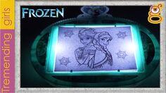 Proyector Frozen Ilumina y Dibuja - Frozen juguetes en español toys - El...