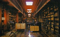The Library of the San Francisco Monastery, Peru