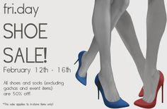 fri.day Shoe Sale! - Feb 12th - Feb 16th | Flickr - Photo Sharing!