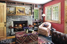 Living & Family Rooms   New England Home Magazine
