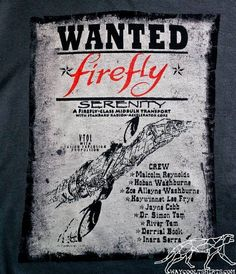 Wanted: Firefly Serenity