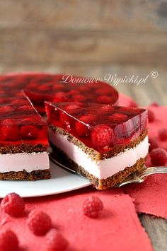 Nuss- Schokokuchen mit Himbeeren Pastel de chocolate avellana claro con m . Gluten Free Desserts, No Bake Desserts, Just Desserts, Delicious Desserts, Chocolate Raspberry Cake, Chocolate Hazelnut, Chocolate Cake, Raspberry Mousse, Strawberry Cheesecake