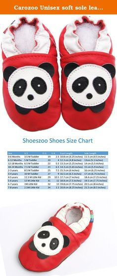 Carozoo airplane cream 6-7y soft sole leather kids shoes