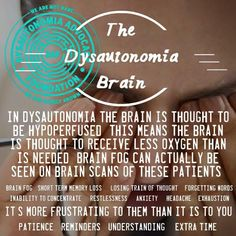 Dysautonomia Brain | POTS