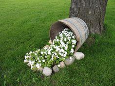 spilling flower pot ideas