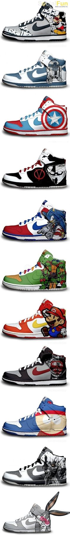 peter will soon add these to his shoe collection...