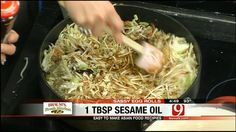 Sassy Egg Rolls - News9.com - Oklahoma City, OK - News, Weather, Video and Sports |    Frying is not the only option:     To bake: Preheat oven to 375 degrees. Spray pan with nonstick cooking spray. Brush rolls with olive oil and bake for 15-20 minutes.