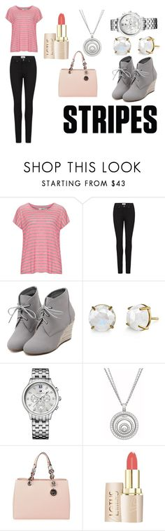 """On The Go"" by marthabr on Polyvore featuring Zizzi, Paige Denim, WithChic, Tommy Hilfiger, Chopard and MICHAEL Michael Kors"