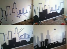 My Batman/Gotham City Wall Mural
