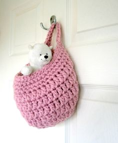 Popular items for crochet basket on Etsy